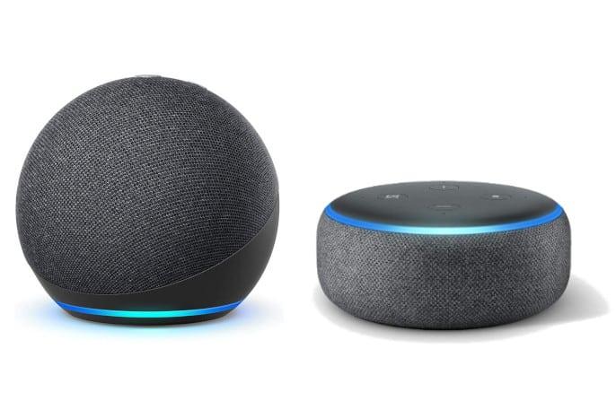 Echo dot 4 generación vs Echo Dot  3 generación - Diseño esférico