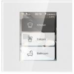 Interruptor con pantalla táctil y manejo de 3 canales on-off compatible con Amazon Alexa