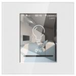 Interruptor con Lcd táctil y manejo de 3 canales on-off compatible con Amazon Alexa