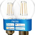Meross Bombilla E27 wifi regulable Amazon Alexa estilo Vintage Edison