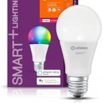 LEDVANCE Bombilla LED Zigbee | E27 base | Regulable | RGBW (2700…6500 K) | 9,00 W | | SMART+ Classic Multicolor