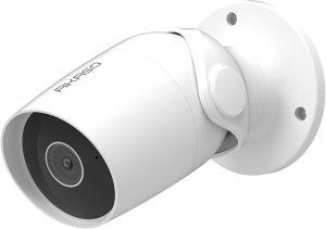 AKASO Cámara de Vigilancia Exterior HD1080P Impermeable Compatible con Alexa y Fire TV