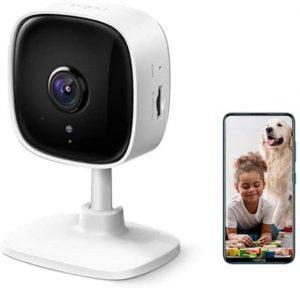 TP-Link IP Cámara Vigilancia WiFi Interior, Ideal para Mirar Bebés o Mascotas, Detección de Movimiento, compatible con Alexa
