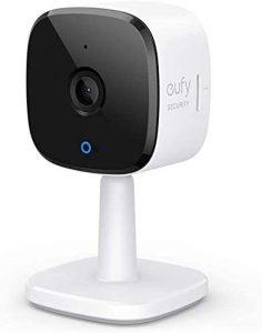 eufy Security 2K cámara IP WIFI de vigilancia enchufable para interiores, con función WLAN, reconocimiento de personas y compatible con Amazon Alexa.