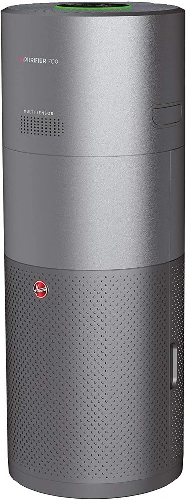 Hoover Purifier 700 - Purificador, humidificador y difusor - Un 3 en 1 en uno compatible con Alexa