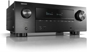Receptor AV de 7.2 canales, amplificador de alta fidelidad, compatible con Alexa, 6 entradas HDMI y 2 salidas, video 8K, Bluetooth, WLAN, Dolby Atmos, AirPlay 2, HEOS Multiroom.